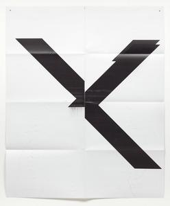 Wade GUYTON - Estampe-Multiple - Untitled X poster