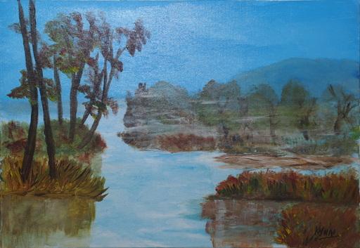 Kyna DE SCHOUEL - Peinture - Brume Tropicale