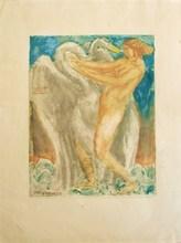 Émile Antoine BOURDELLE (1861-1929) - Leda et le Cygne