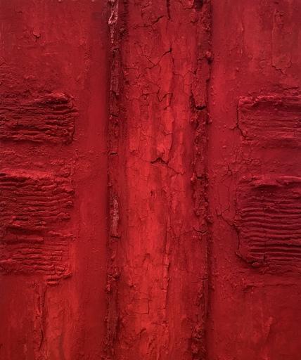Marcello LO GIUDICE - Painting - ROSSO VULCANO