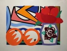 Tom WESSELMANN - Estampe-Multiple - Still Life with Lichtenstein and Two Oranges
