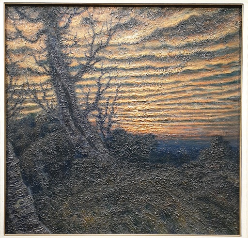 Nicolás RAURICH Y PETRE - Pintura - paisaje crepuscular