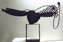 Louis CANE - Sculpture-Volume - Grande donna moderna allungata