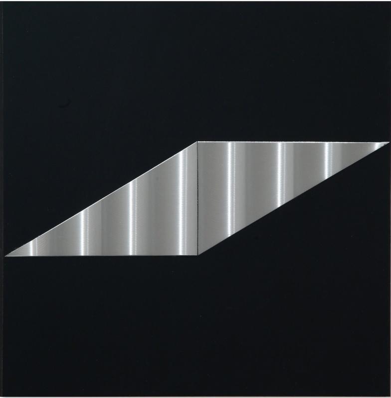 Getulio ALVIANI - Painting - superficie volume virtuale