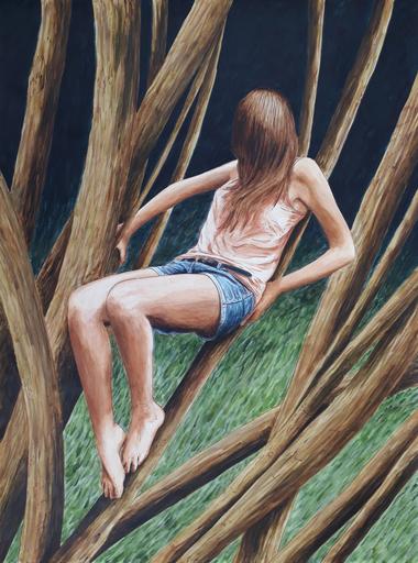 Erlend STEINER LOVISA - Painting - Floor 8    (Cat N° 6342)
