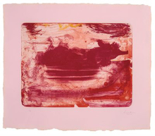 Helen FRANKENTHALER - Print-Multiple - The Red Sea