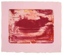 Helen FRANKENTHALER - Grabado - The Red Sea