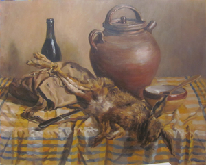 Pierre CAMPAIN - Pittura - Nature-morte