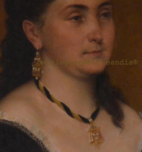 """Emilie ROUILLON - Pintura - """"Auténtica"""" suegra de Ulpiano Checa"""