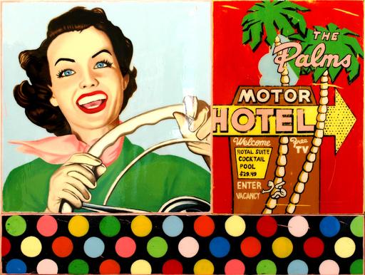 JOSEPH - Pittura - The Palm Hotel