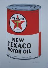 Petr PTÁčEK - Grabado - New Texaco Motor Oil