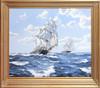 James BRERETON - Peinture - 'Taeping' and 'Ariel' 1866
