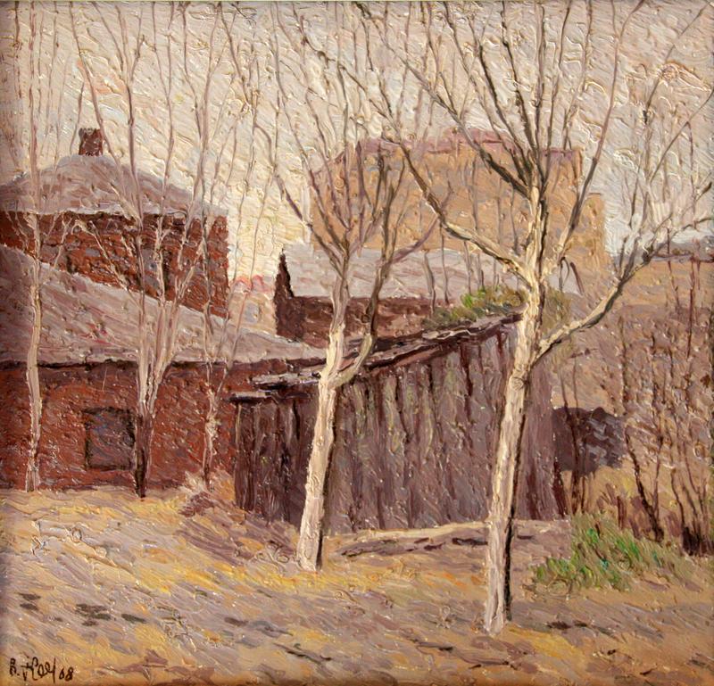 Valeriy NESTEROV - Painting - Rogozhskiy Val. Moscow