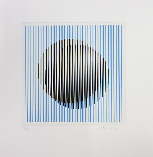 Carlos CRUZ-DIEZ - Estampe-Multiple - Induction du Jaune St. Alban 2