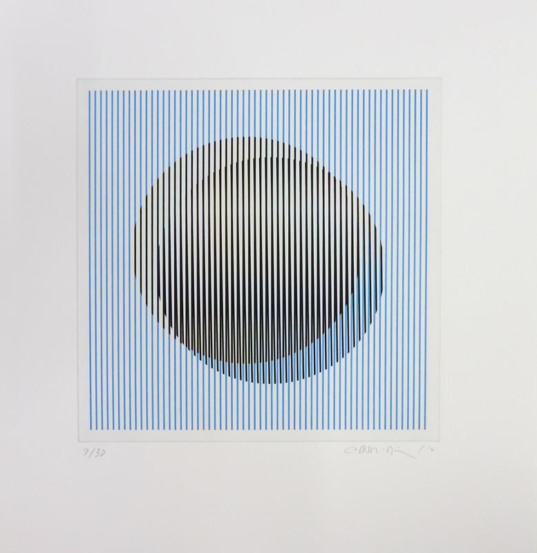 Carlos CRUZ-DIEZ - Print-Multiple - Induction du Jaune St. Alban 2