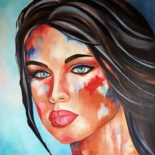 Sylvie ABADIE-BASTIDE - Painting - OZALEE