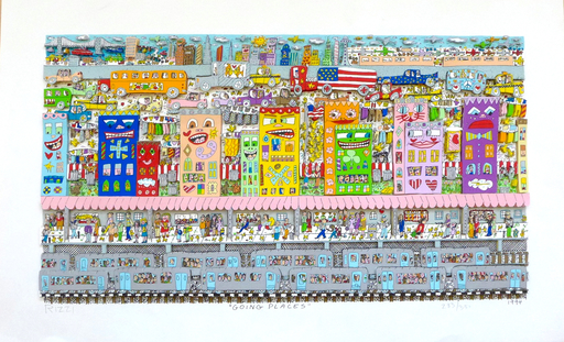 James RIZZI - Grabado - Going Places