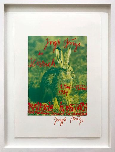 Joseph BEUYS - Grabado - Der Hase in Ilverich