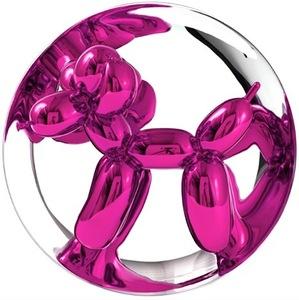 Jeff KOONS - Sculpture-Volume - Balloon Dog (Magenta)