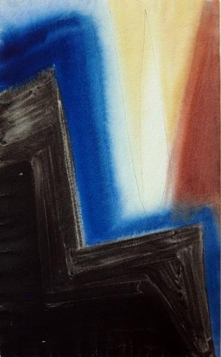 Thilo MAATSCH - Disegno Acquarello - Flamme blanche