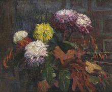 Alexandre ALTMANN - Pintura -  The Autumn Flowers
