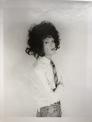Christopher MAKOS - Fotografia - Andy Warhol, dark wig (Altered images)