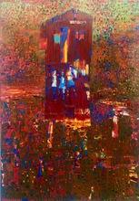 Reza DERAKSHANI - Peinture - Red House garden party