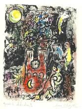 Marc CHAGALL - Grabado - ARBRE DE JESSEE 1960 M 297