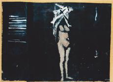 Carlo MATTIOLI - Painting - Nudo nella stanza