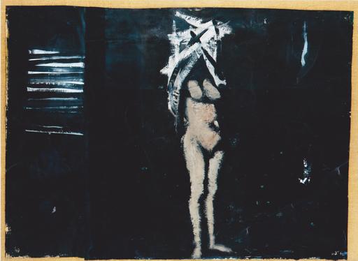 Carlo MATTIOLI - Peinture - Nudo nella stanza