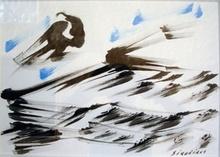 David Alfaro SIQUEIROS - Drawing-Watercolor