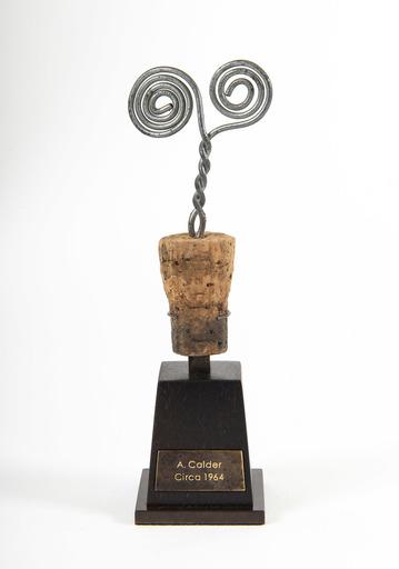 Alexander CALDER - Sculpture-Volume - Bouchon de Bouteille en Spirale
