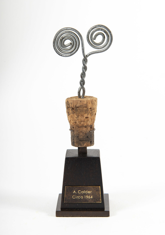 Alexander CALDER - Scultura Volume - Bouchon de Bouteille en Spirale