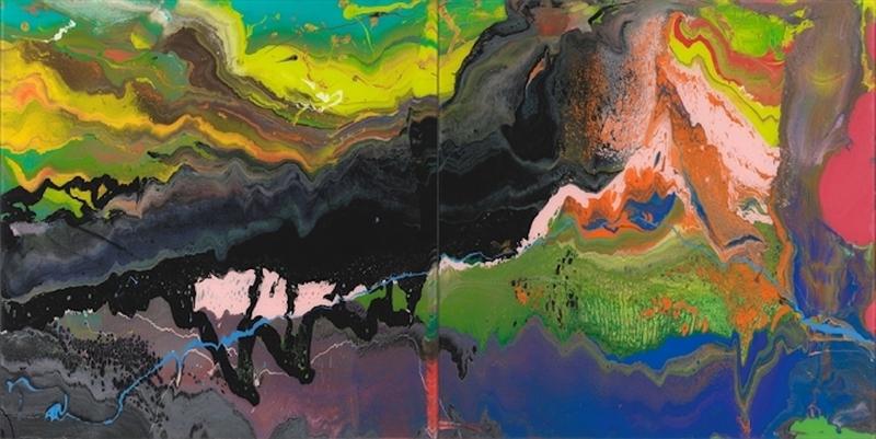 Gerhard RICHTER - Stampa Multiplo - Flow