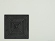 弗兰克•斯特拉 - 版画 - Untitled