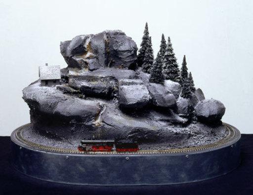 Hans OP DE BEECK - Escultura - My train