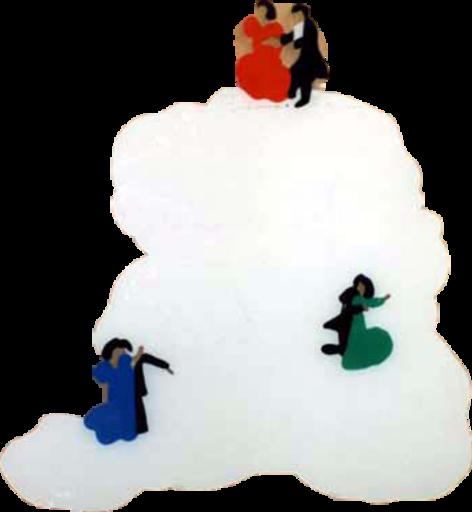 Marco LODOLA - Gemälde - Ballerini