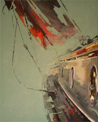 Diana KIROVA - Painting - Un tufo nei sogni