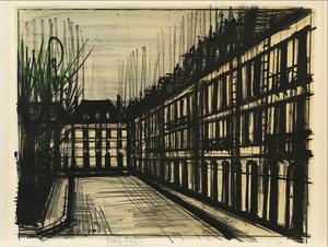 Bernard BUFFET - Print-Multiple - La Place des Vosges