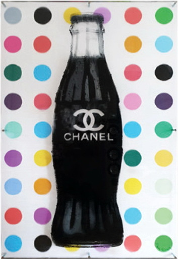 Peter  BEDNORZ & Paul  THIERRY - Print-Multiple - Coke Chanel