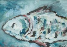 Vladimir Igorevich YAKOVLEV - Drawing-Watercolor - Fish
