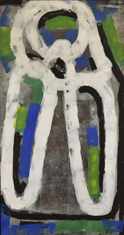 让-保罗•里奥佩尔 - 绘画 - Abstract Composition N