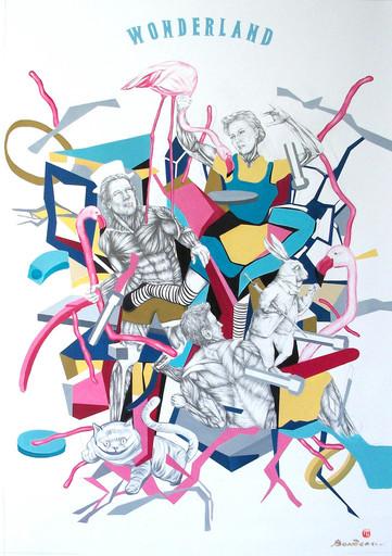 Iryna BEREZHKO & BONDERO - Painting - Wonderland    (Cat N° 3565)