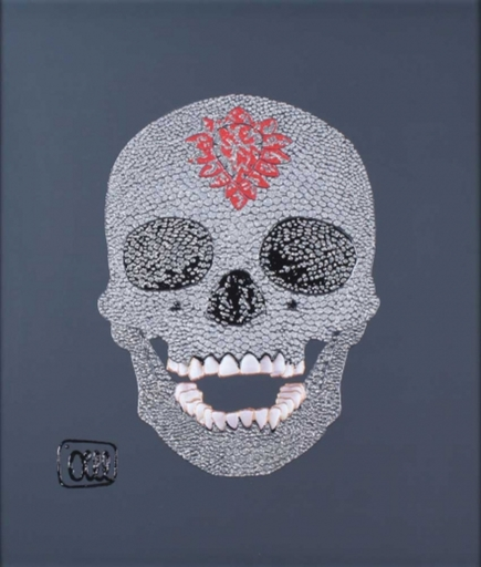 OLLL - Peinture - Amor amor black/red