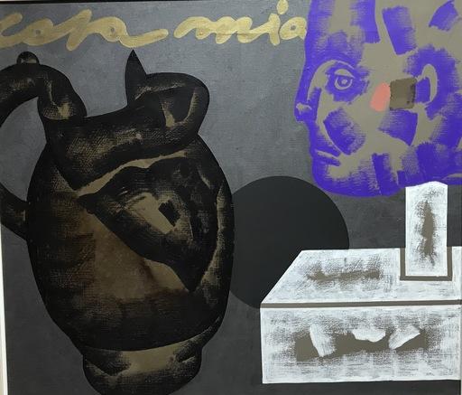 Concetto POZZATI - Painting - A Casa Mia