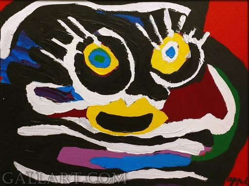 Karel APPEL - Pittura - Untitled