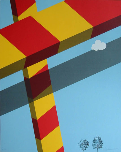 Allan D'ARCANGELO - Stampa Multiplo - Untitled