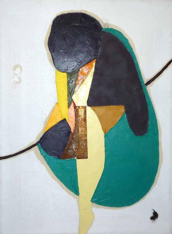Dieter TEUSCH - Painting - o.T.