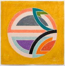 Frank STELLA - Estampe-Multiple - Sinjerli Variations Squared With Colored Ground