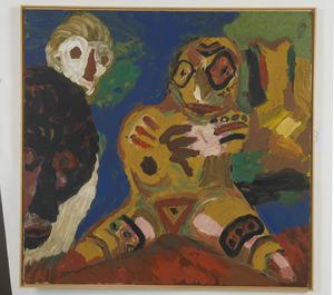 Reinhard SANDNER - Painting - o.T.